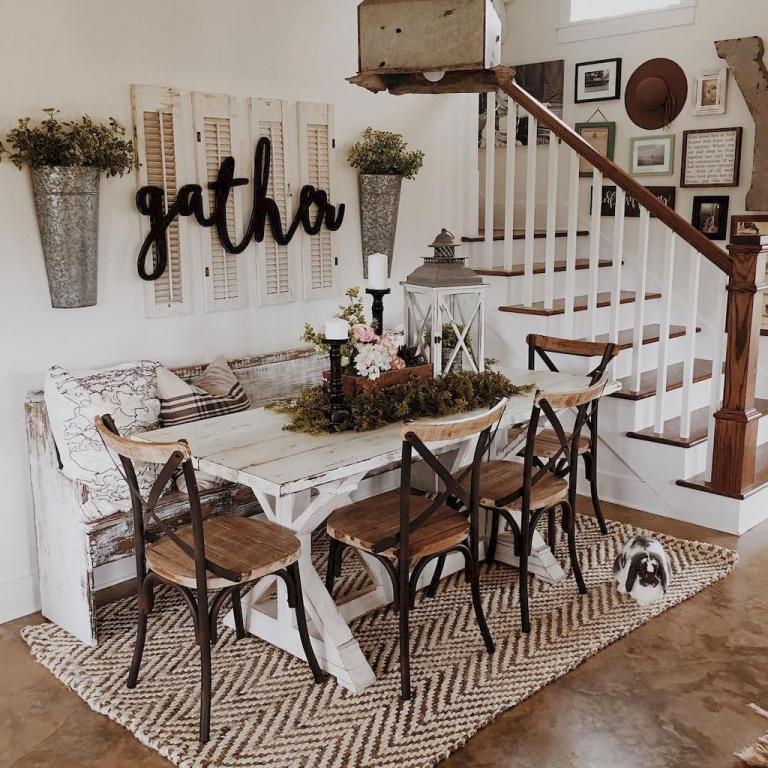 30 Modern Home Decor Ideas: 30 Amazing Modern Farmhouse Dining Room Decor Ideas