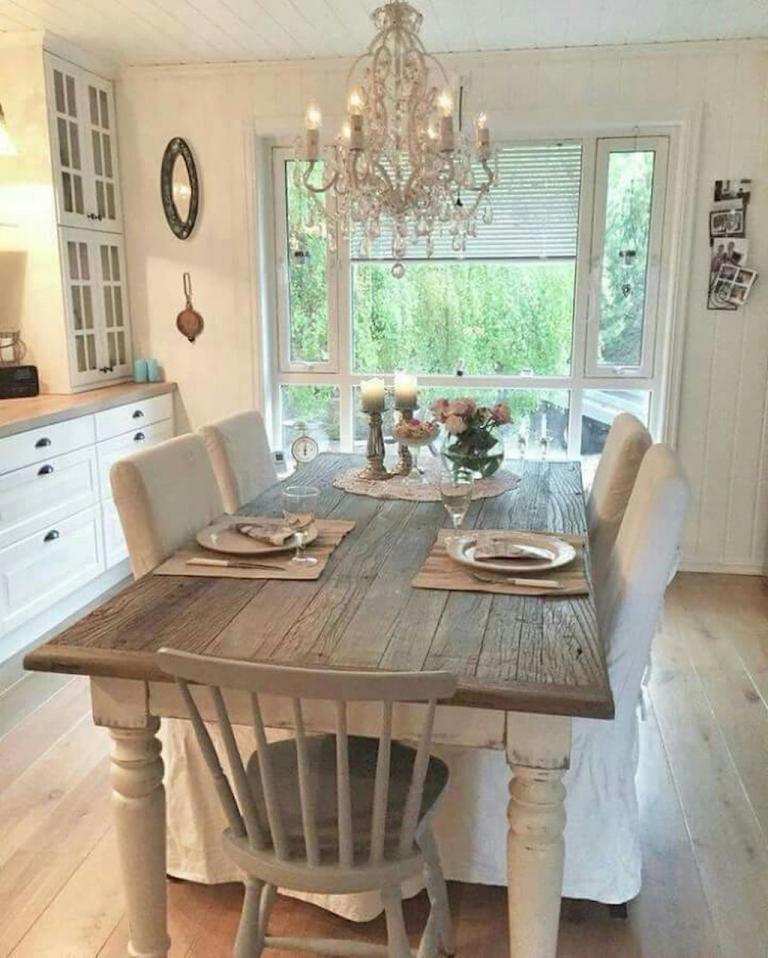 25 Wonderful Modern Farmhouse Dining Room Decor Ideas