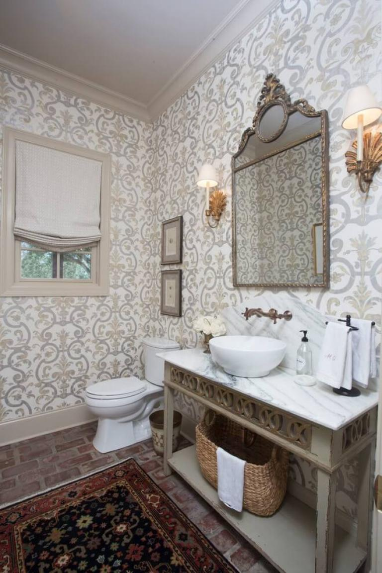 25 Nice Half Bathroom Ideas For Beautiful Design