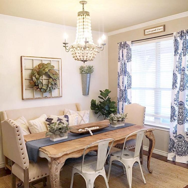 Modern Farmhouse Dining Room Decor Ideas