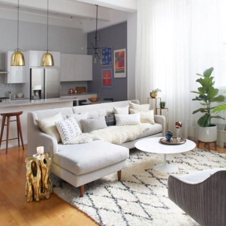 Small Apartment Living: 50+ Inspiring Small Apartment Living Room On Budget Design
