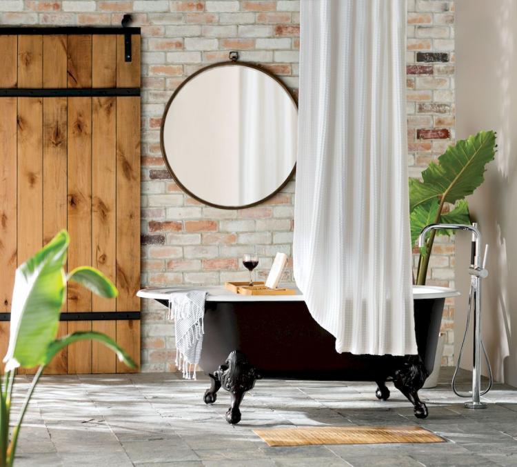 Bathroom Modern Farmhouse Style Bathroom Farmhouse Decor Ideas